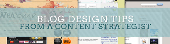 7 советов по содержимому дизайна блога